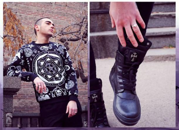 suéter | hombres rebeldes