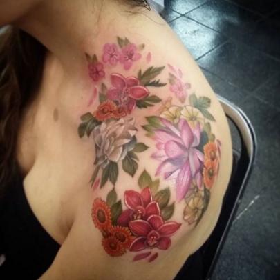 María Lucero   mejores tatuadores