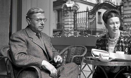 Simone de Beauvoir Sartre