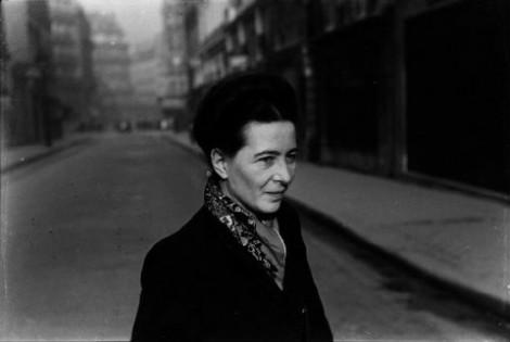 Simone de Beauvoir calle