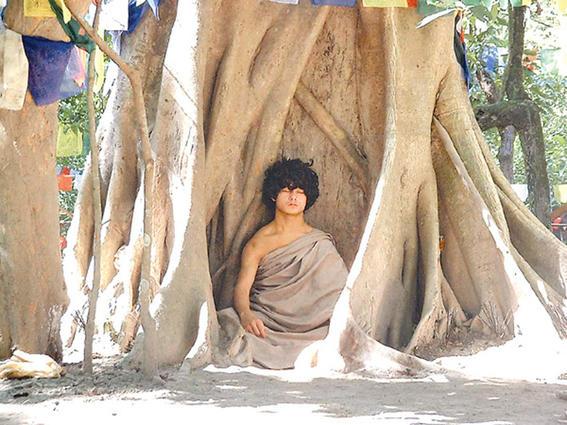 Niño Buda Meditando