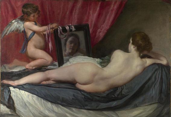 Venus del espejo t | famosas pinturas