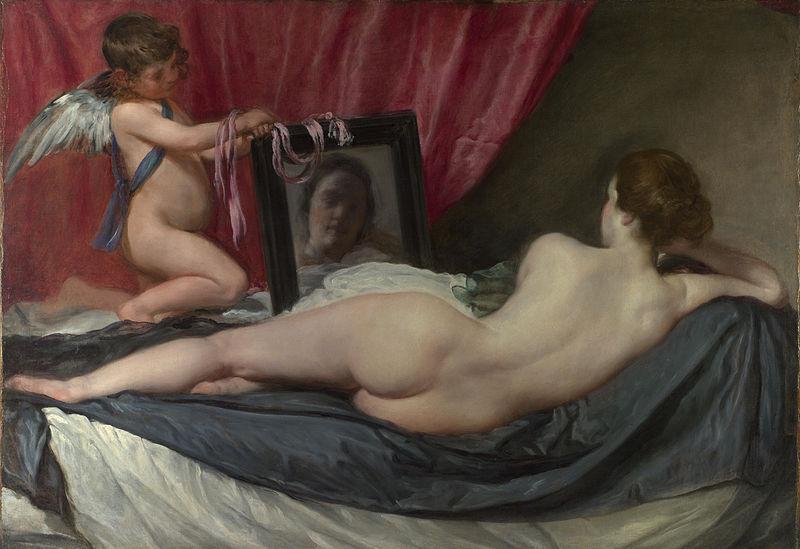 Venus del espejo | pinturas eróticas