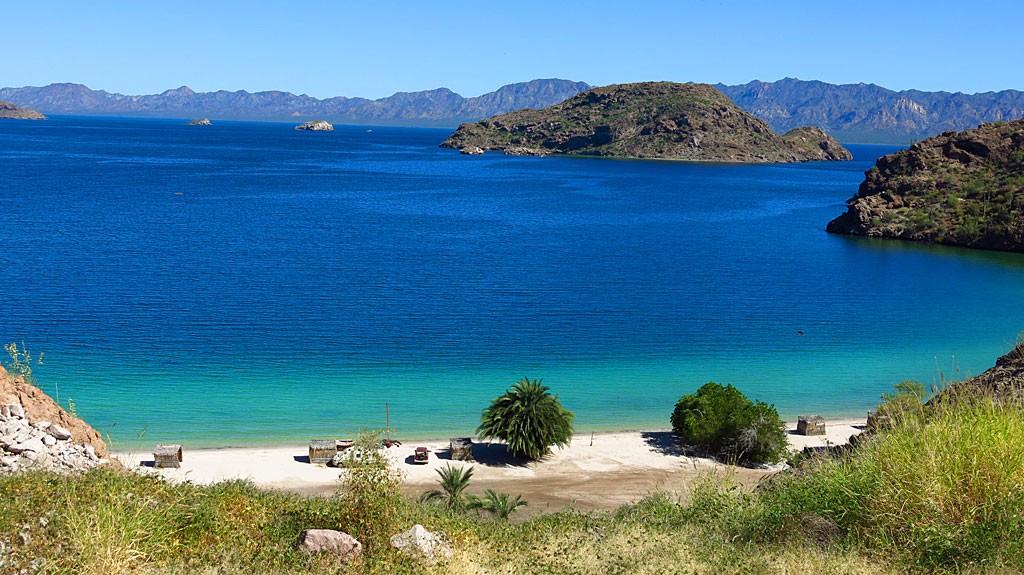 Agua verde | playas en el norte de mexico