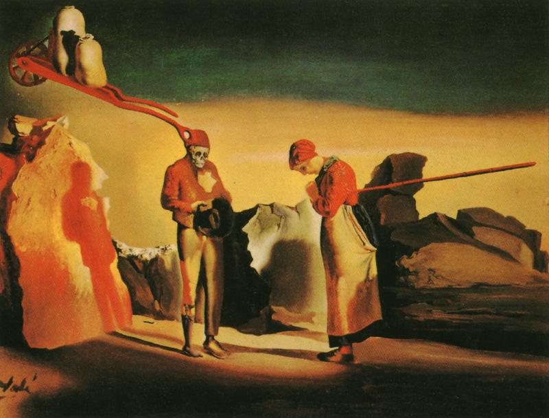 Salvador Dalí - Ángelus de Millet