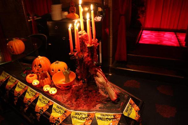 bares de terror vampire cafe halloween