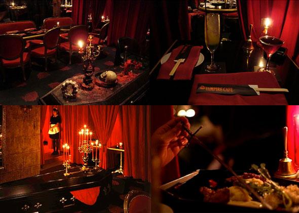 bares de terror vampire collage