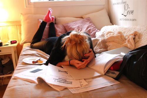 beca para estudiar en el extranjero en la cama