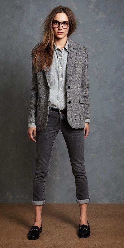 blazer gris