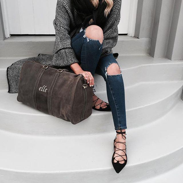 Bolso grande  / prendas elegantes
