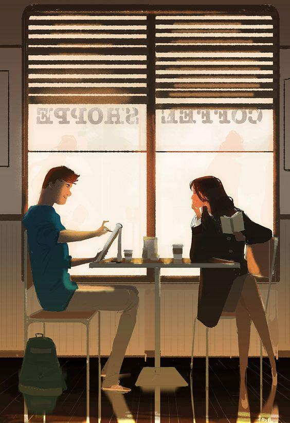 cafeteria amor verdadero