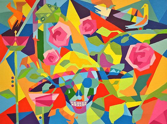 pinturas de Lourdes Villagómez