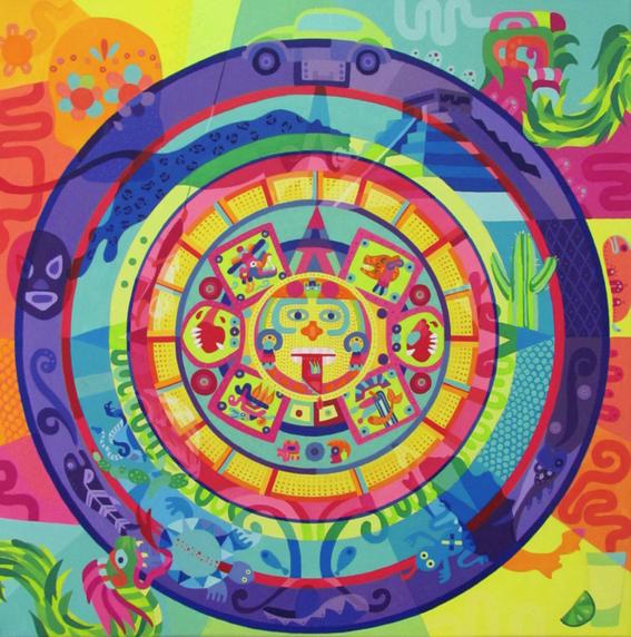 calendario azteca lourdes villagomez