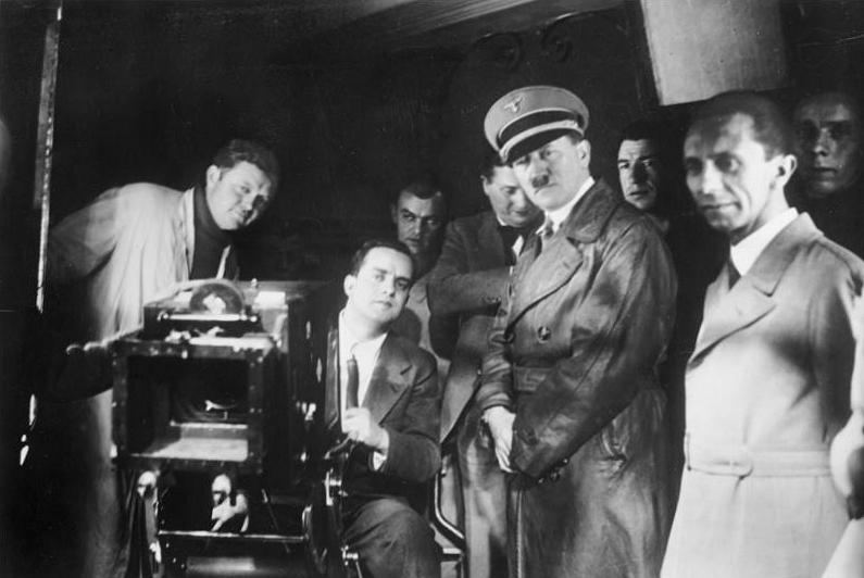 cine nazi filmando