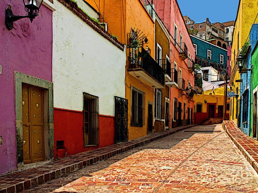 ciudades de mexico guanajuato callejon