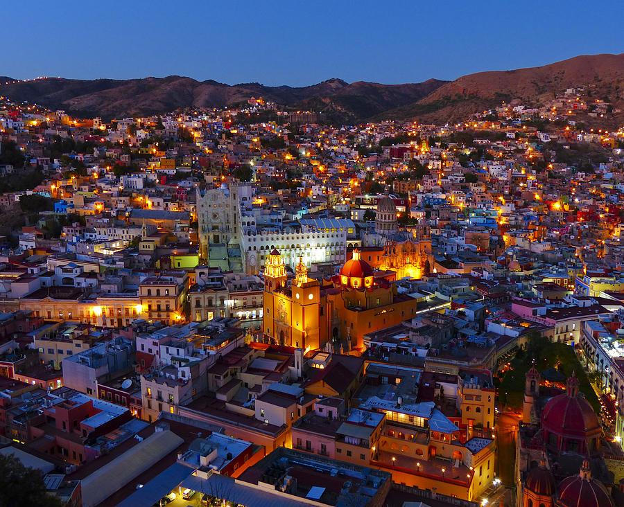 ciudades de mexico guanajuato noche