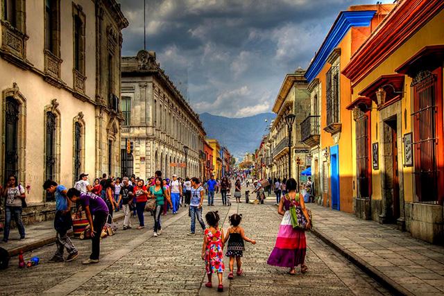 ciudades de mexico oaxaca calle