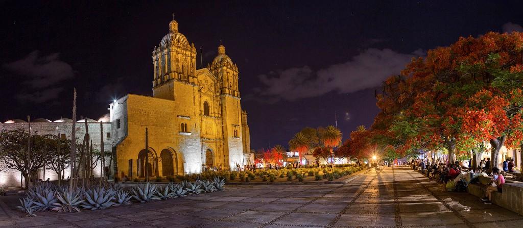 ciudades de mexico oaxaca downtown
