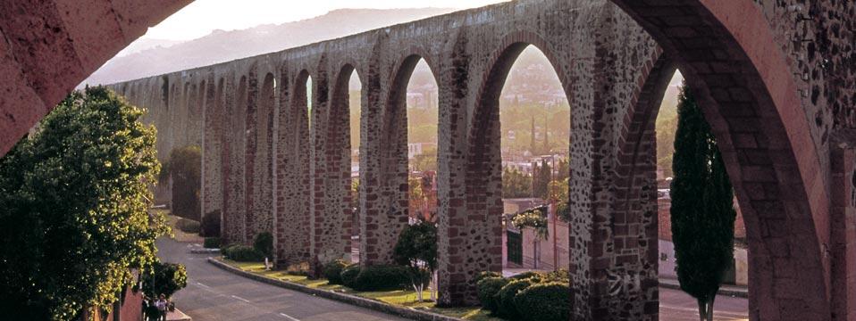 ciudades de mexico queretaro acueducto