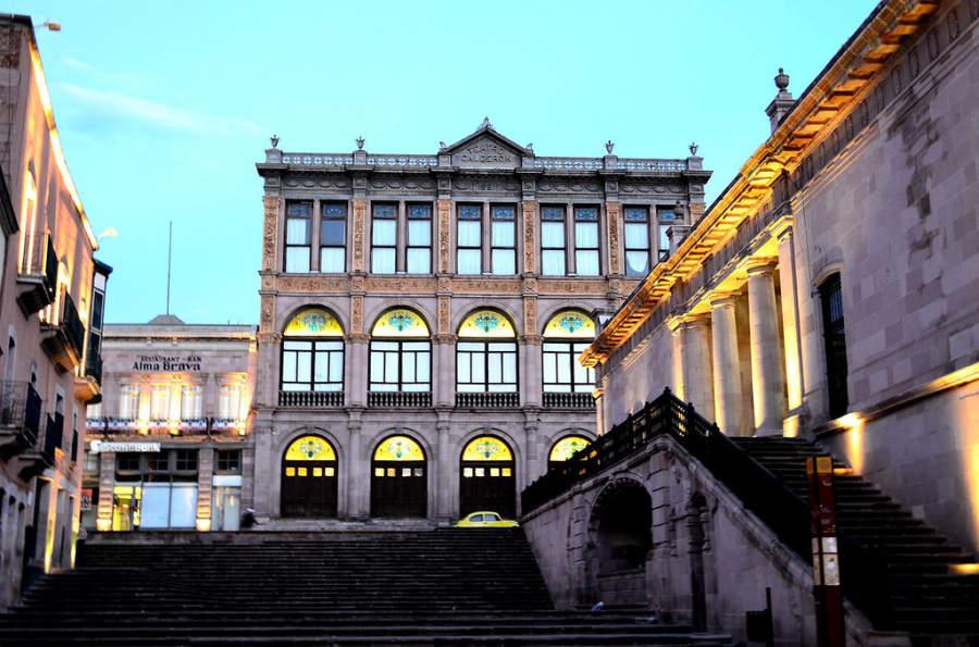 ciudades de mexico zacatecas teatro