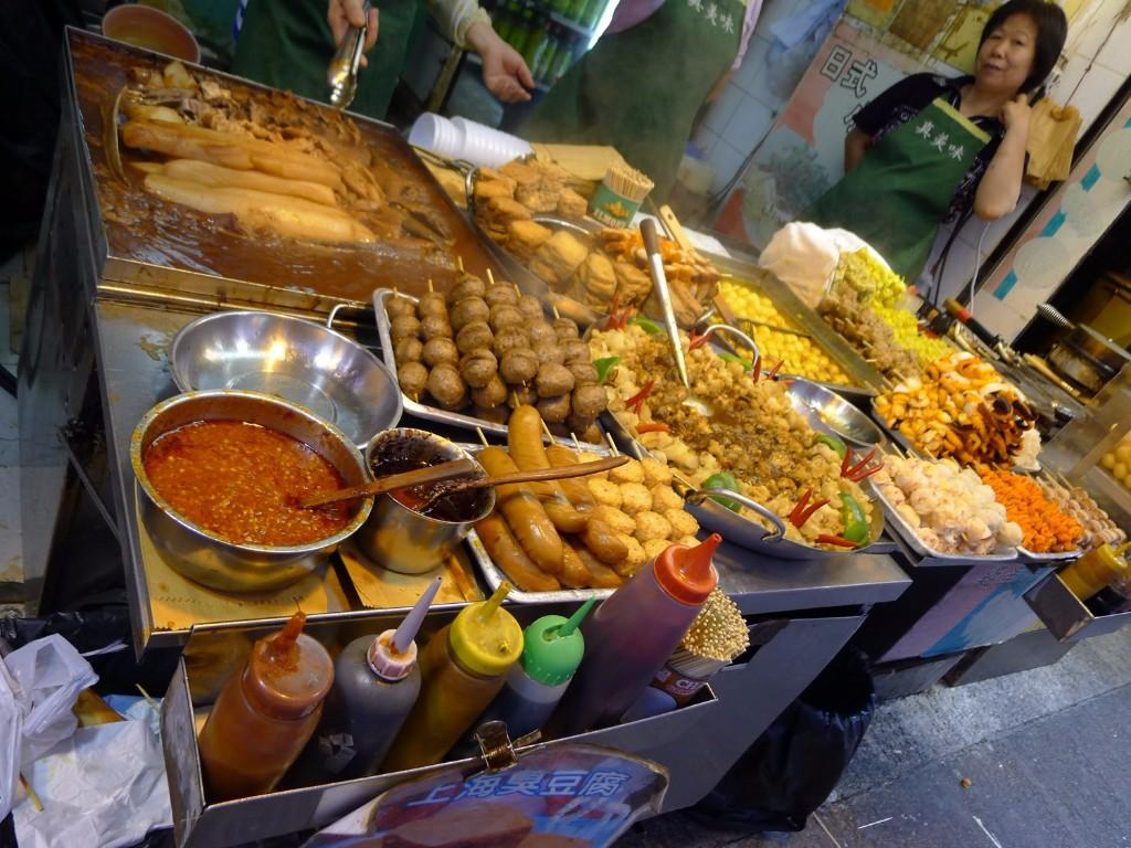 comida callejera hong kong