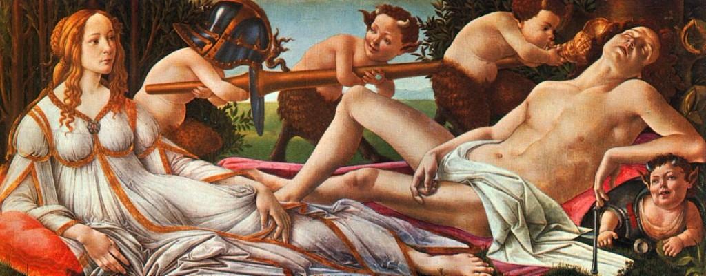 Conocedor del arte - Botticelli
