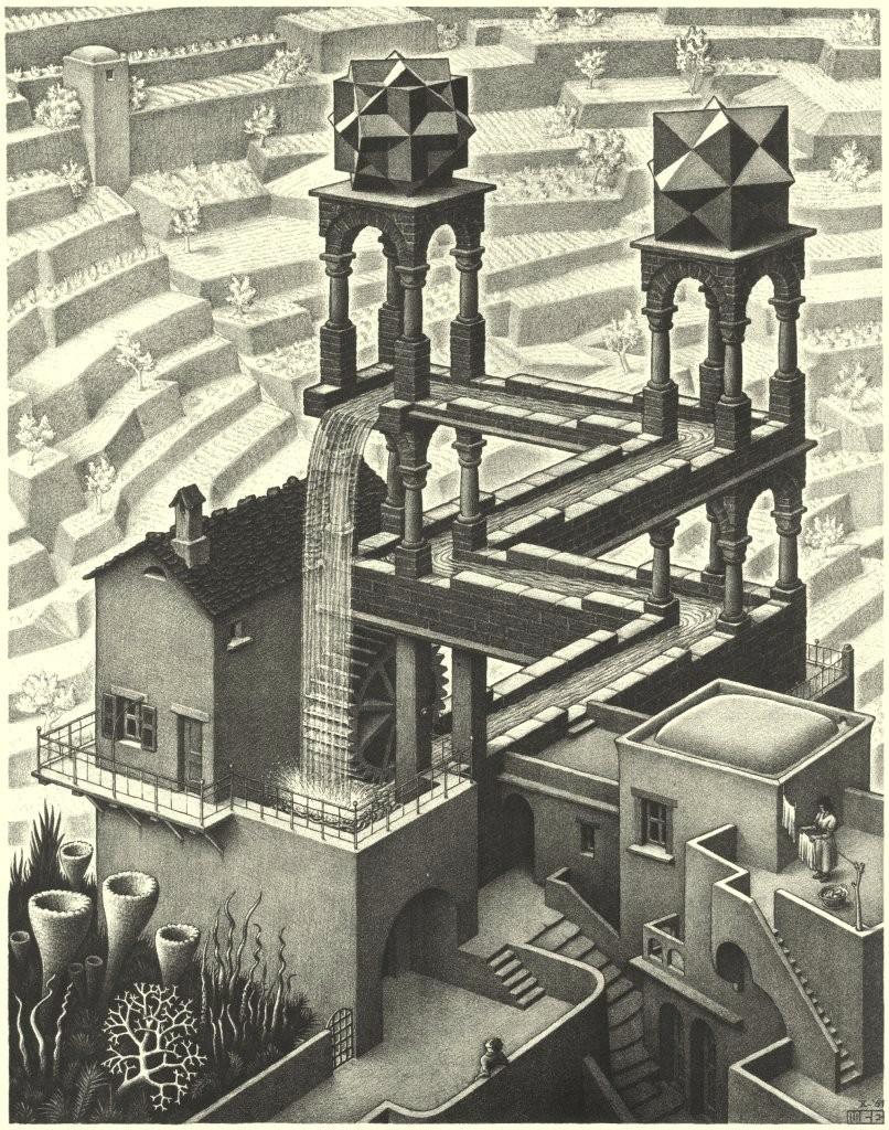 Conocedor del arte - Escher