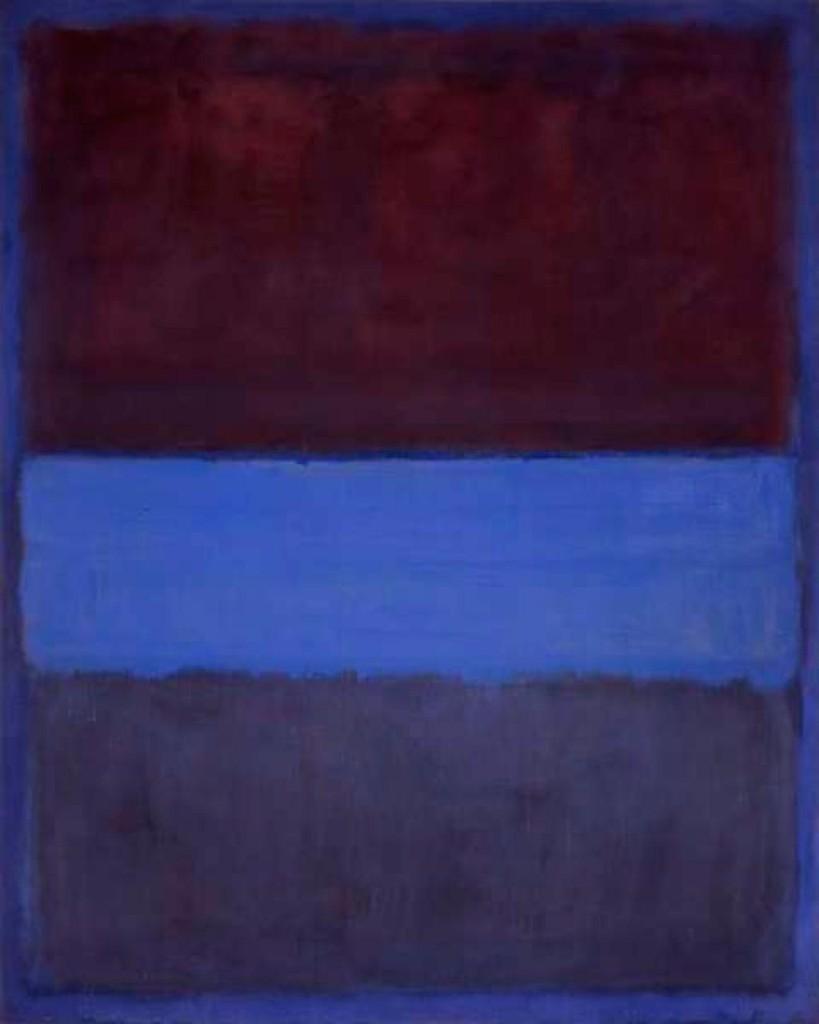 Conocedor del arte - Rothko