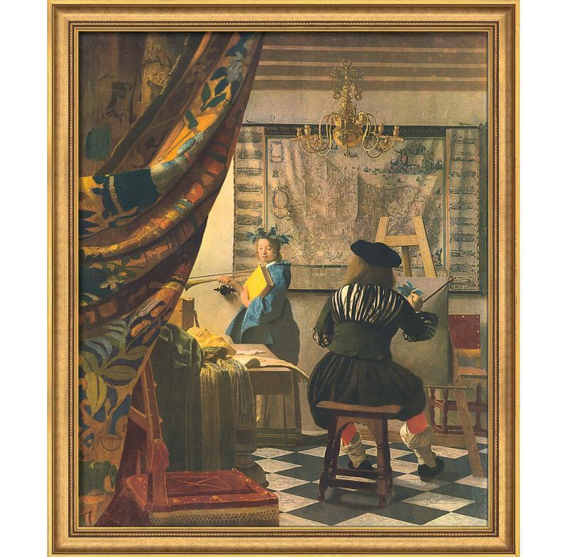 Conocedor del arte - Vermeer