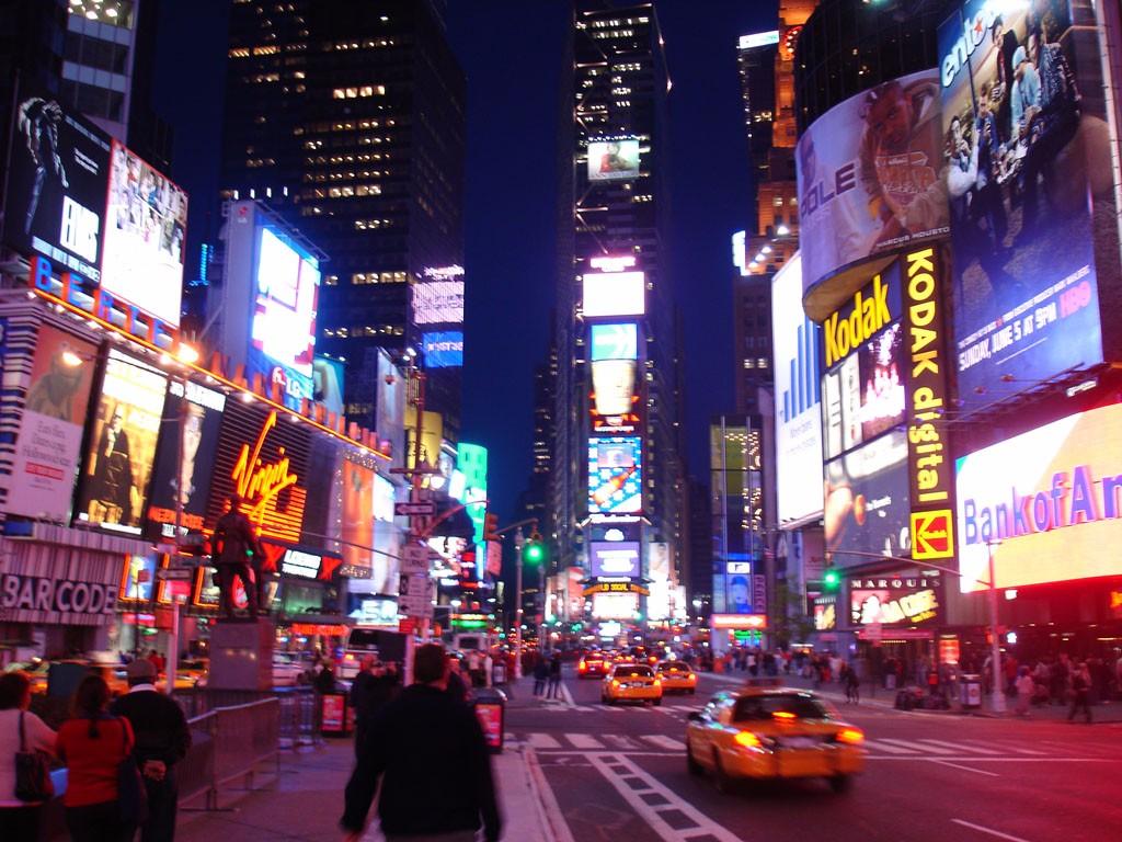 Conocer Nueva York - Times Square