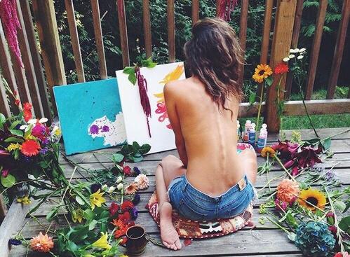 Creatividad - Mujer