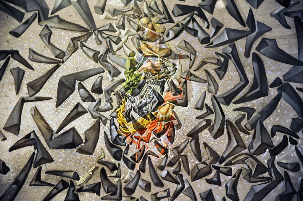Cuadros de Dalí - La ascensión de Santa Cecilia