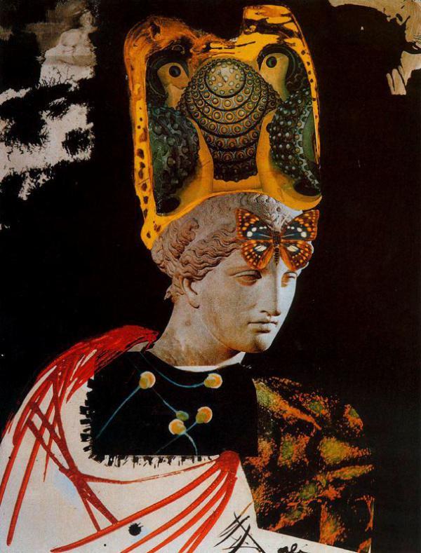 Cuadros de Dalí - Minerva