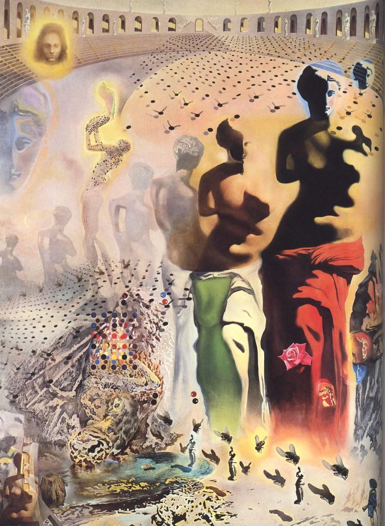 Cuadros de Dalí - El torero alucinógeno