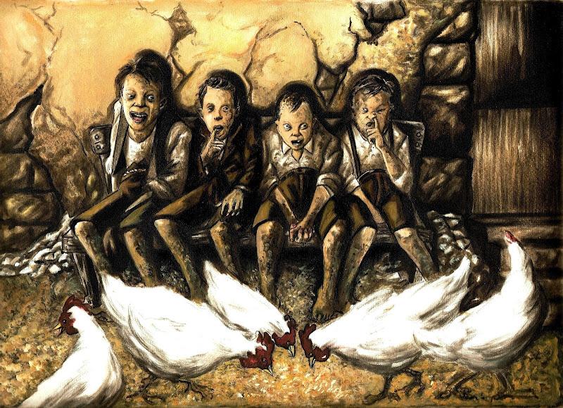 cuentos sangrientos gallina
