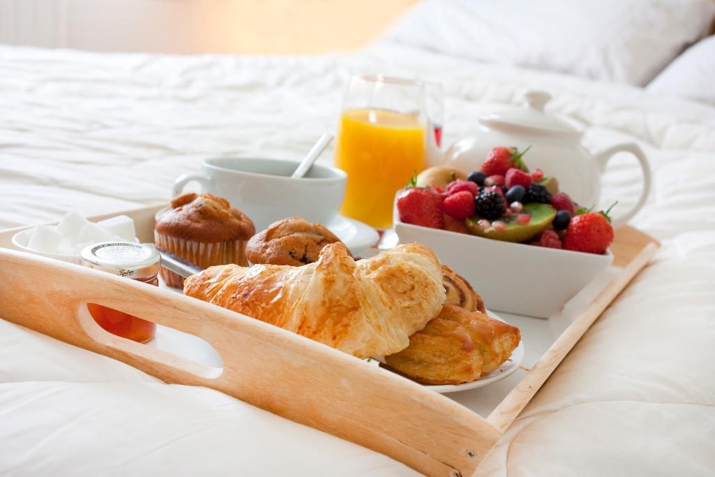 desayuno con tu pareja delicioso