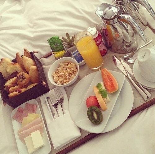 desayuno con tu pareja jamon queso