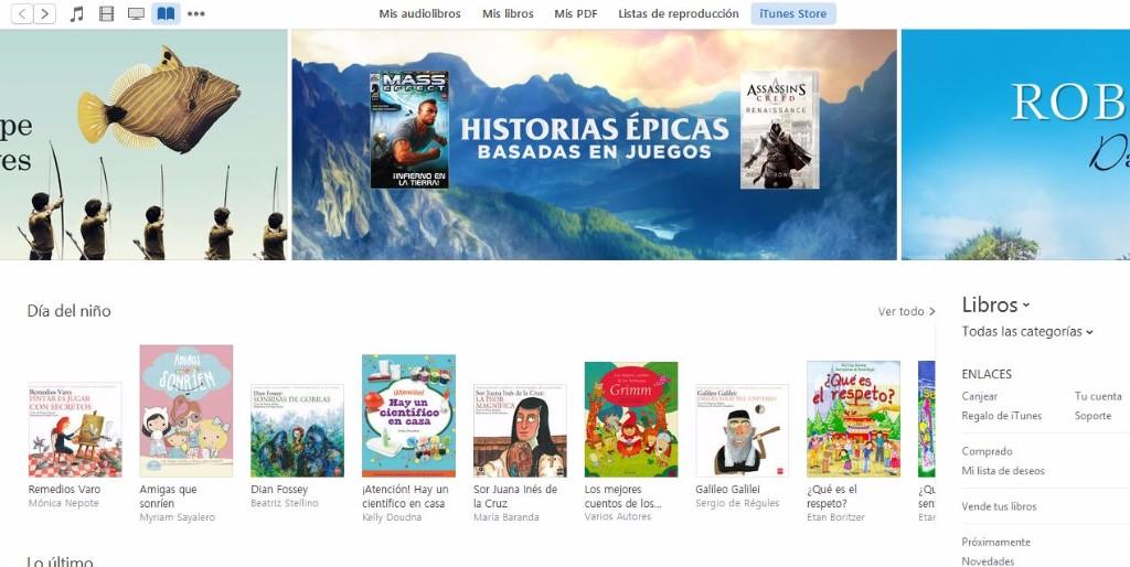 descargar libros gratis apple