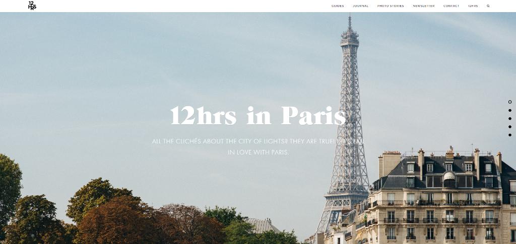 Ciudad favorita doce horas paris