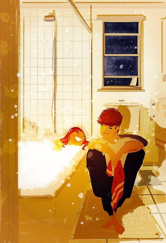 ducha amor verdadero
