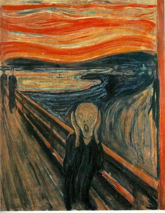 El grito | famosos pintores
