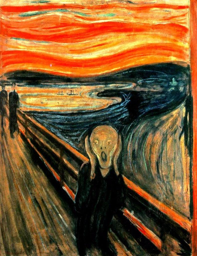 el grito pinturas mas importantes