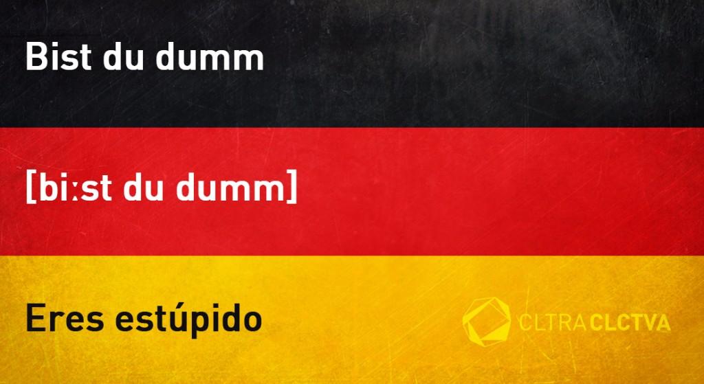 aprender aleman eresestupido