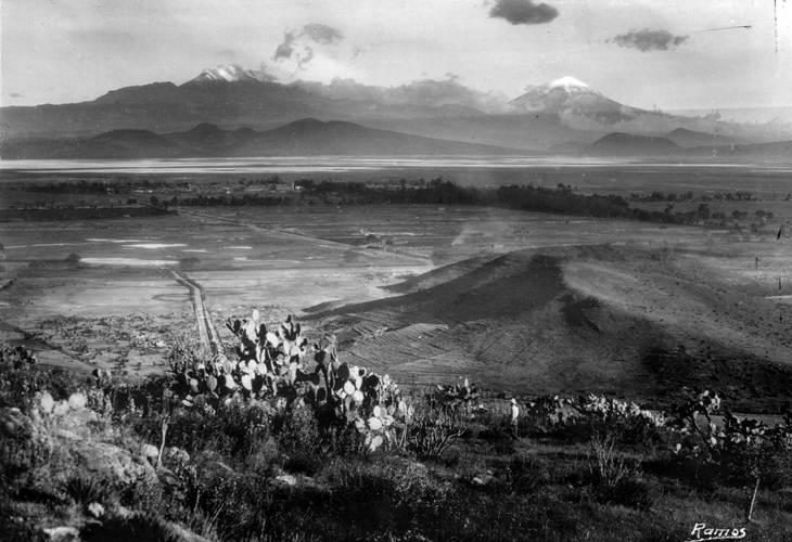fotografias de Mexico Volcanes lejos
