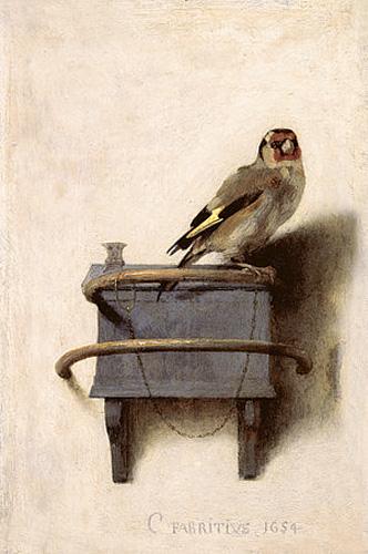 Goldfinch| famosas pinturas