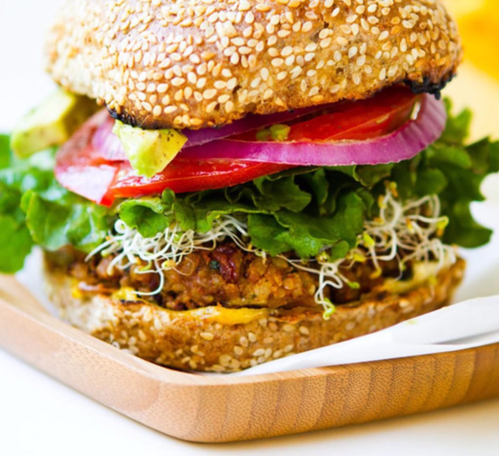 hamburguesa de tofu  hamburguesas veganas