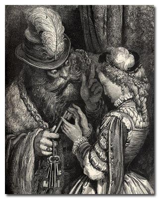 hermanos grimm bluebeard