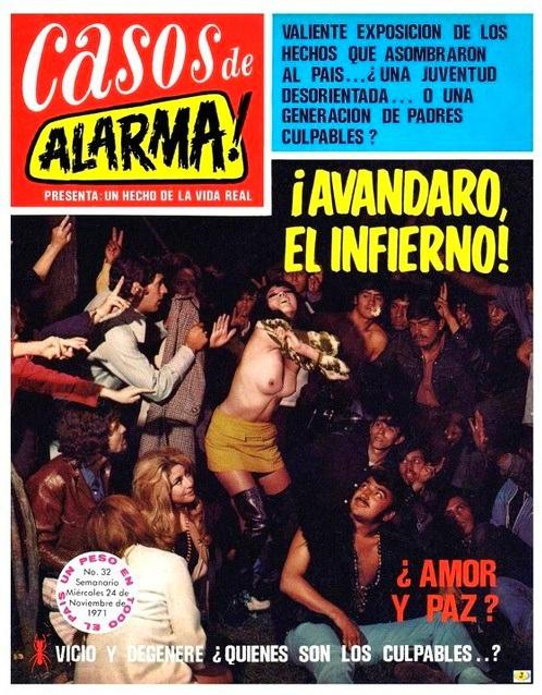 historia del rock en español avandaro