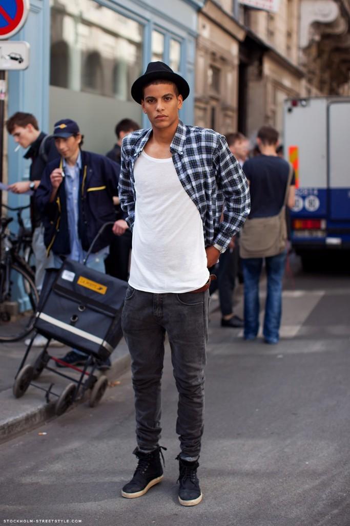 hombres con estilo Berlin camisa
