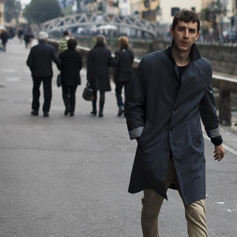 hombres con estilo Milan